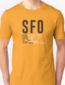 San Francisco Airport SFO Unisex T-Shirt