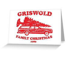 Griswold Family Christmas 1989 VINTAGE Greeting Card