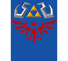 Hylian Shield - Skyward Sword Photographic Print
