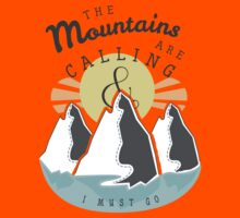 The Mountains are Calling... Kids Clothes