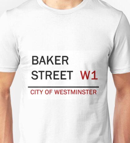 'Baker Street' - London Street Sign Unisex T-Shirt