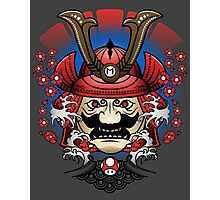 Mushroom Kingdom Samurai Photographic Print