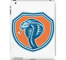 Cobra Viper Snake Head Shield Retro iPad Case/Skin