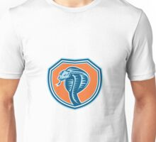 Cobra Viper Snake Head Shield Retro Unisex T-Shirt