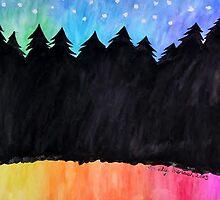 Starry Night by Delphinium