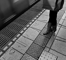 Stand by, Tokyo, Japan by Norman Repacholi