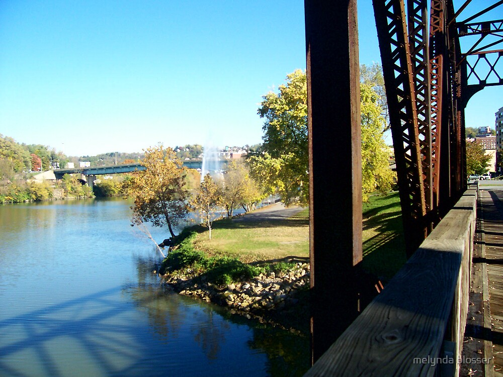 view from a bridge by melynda blosser