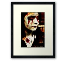 Tragedy Framed Print