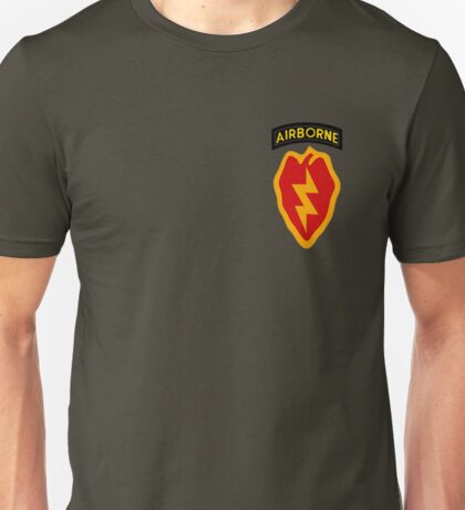 25th Infantry 4th BCT (Airborne) Unisex T-Shirt
