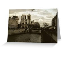 Notre Dame - Paris Greeting Card