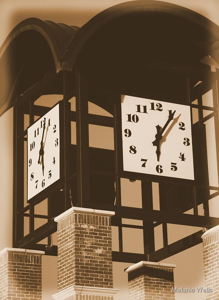 Warped in  Time by Melanie Wells
