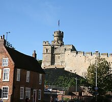 Lincoln castle from the bailgate by NJAPHOTOGRAPHY