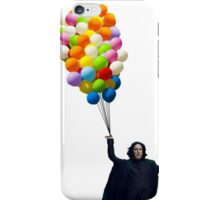 snape with balloons iPhone Case/Skin