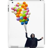 snape with balloons iPad Case/Skin