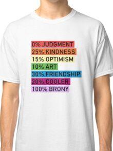 100% BRONY - MLP Classic T-Shirt