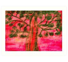 Scenic Tree Art Print
