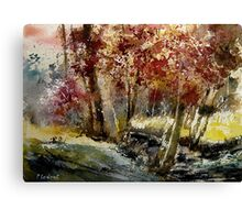 watercolor ywoigne Canvas Print