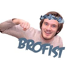 Pewdiepie | brofist flower-crown  by Dylanoposey