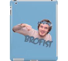 Pewdiepie   brofist flower-crown  iPad Case/Skin