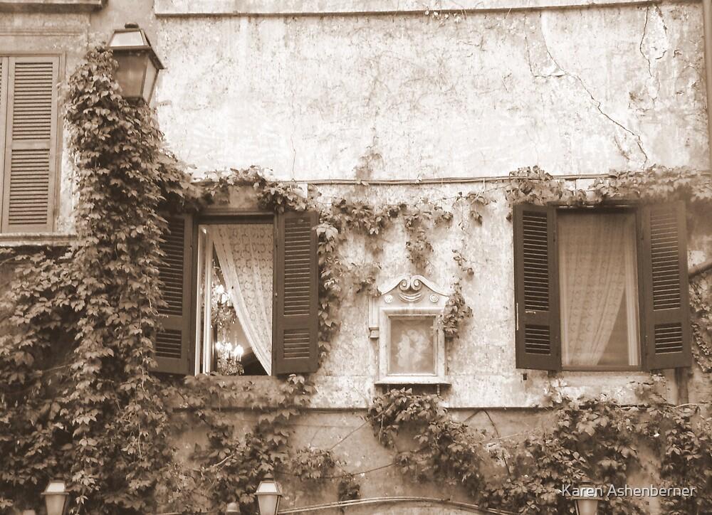 At Home in Rome by Karen Ashenberner