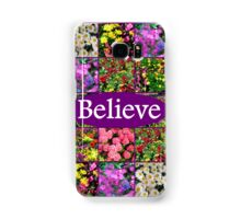 BELIEVE IN MIRACLES AND DREAMS Samsung Galaxy Case/Skin