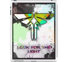 Fire Fly: The Last of Us (Look for the Light) iPad Case/Skin