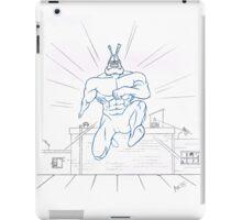 Big Blue Justice iPad Case/Skin