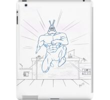 Big Blue Justice iPad Case/Skin