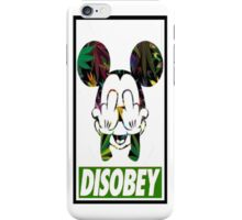 MICKEY BAKED (DISOBEY) iPhone Case/Skin
