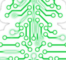 Christmas Circuitree Sticker