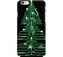 Christmas Circuitree iPhone Case/Skin