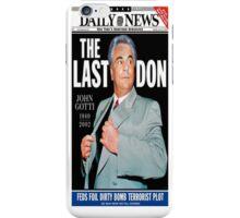 THE LAST DON (J. GOTTI) iPhone Case/Skin