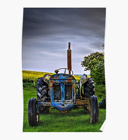 Tractor Poster