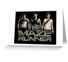 The Maze Runner Greeting Card