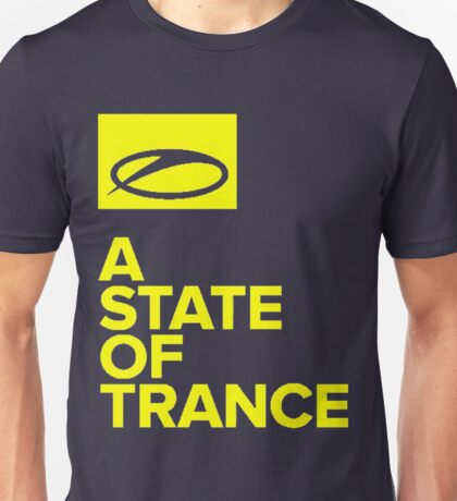 A State Of Trance yellow Unisex T-Shirt