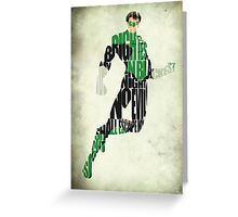 Green Lantern Greeting Card