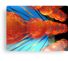 Great Balls of Fire Canvas Print