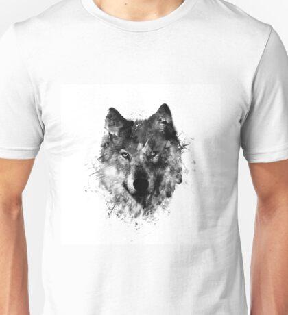 wolf like me blck Unisex T-Shirt