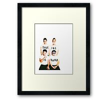 Walk The Moon - Talking is Hard Framed Print