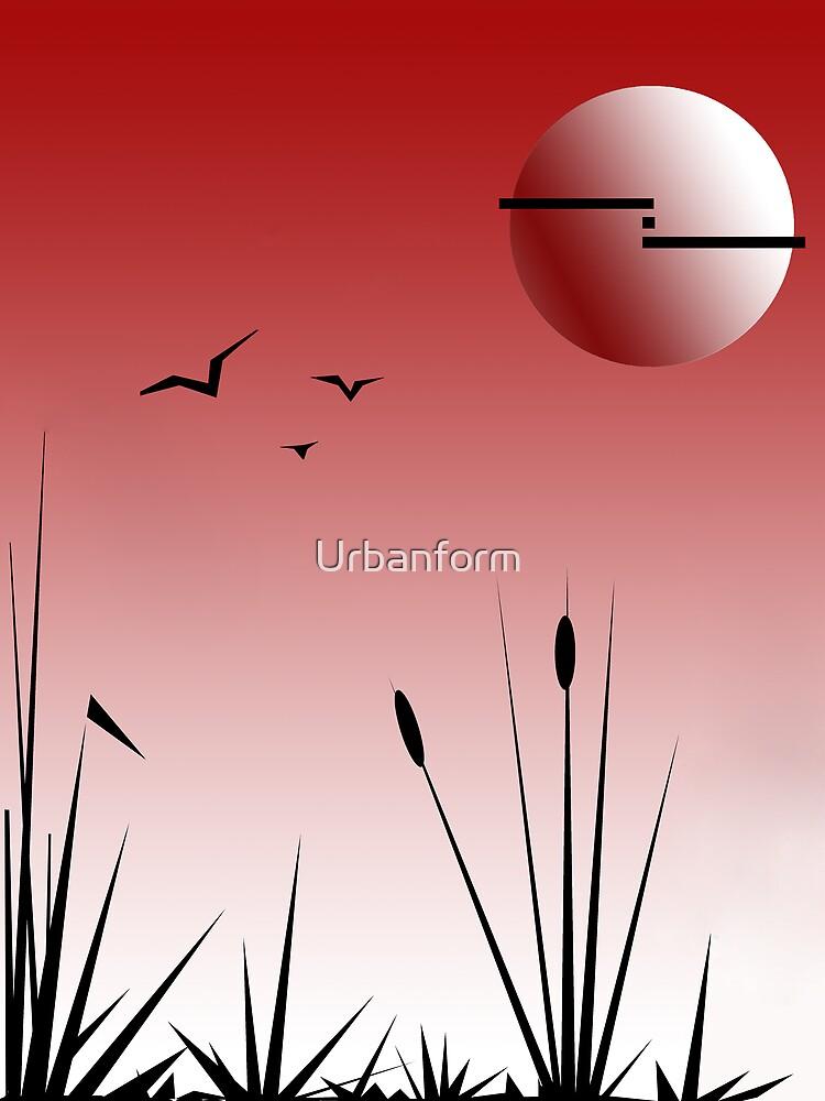Oriental blush by Urbanform