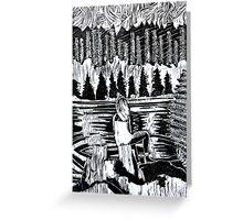 Sierra Woman Greeting Card