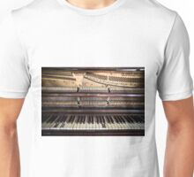Old Honky Tonk Vintage Piano Unisex T-Shirt