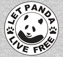 Panda reborn logo Kids Clothes