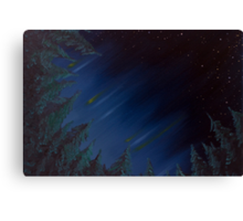 Midnight Forest - Oil Painting Canvas Print
