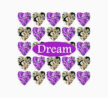 DREAM IN WHITE AND PURPLE FLOWERS Unisex T-Shirt