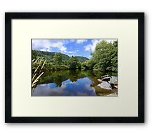 Betws y coed, North Wales Framed Print