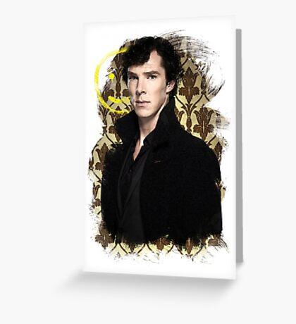 Sherlock - Benedict Cumberbatch Greeting Card
