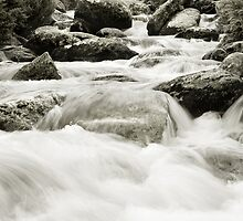 Thredbo River by James  Messervy