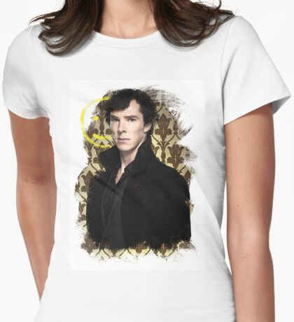 Sherlock - Benedict Cumberbatch Womens Fitted T-Shirt