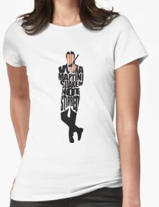 James Bond Womens Fitted T-Shirt